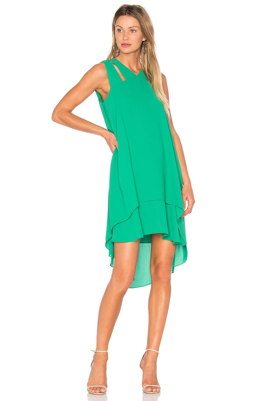 Lyst - Bcbgmaxazria Kristi Dress in Green