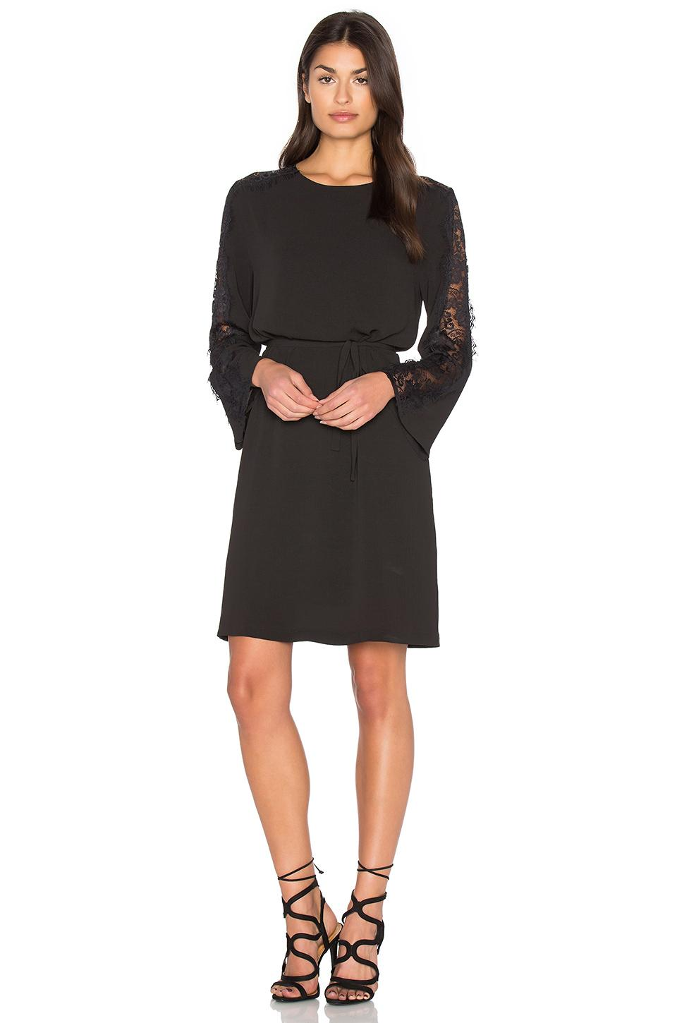 Bishop Young Lace Bell Sleeve Dress In Black Lyst
