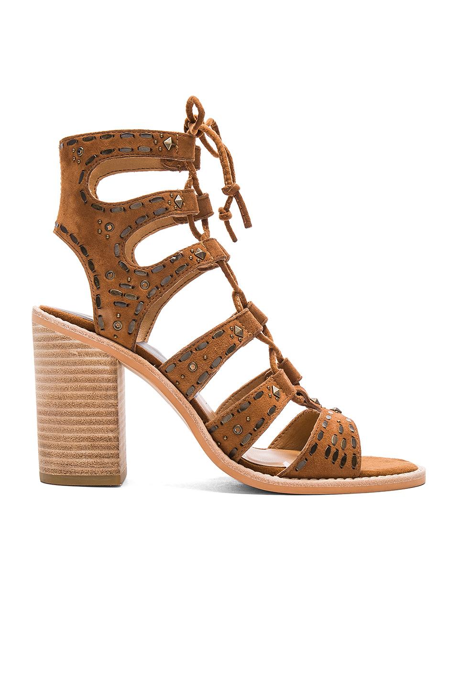 Dv By Dolce Vita Thadie Wedge Platform Sandals in Beige