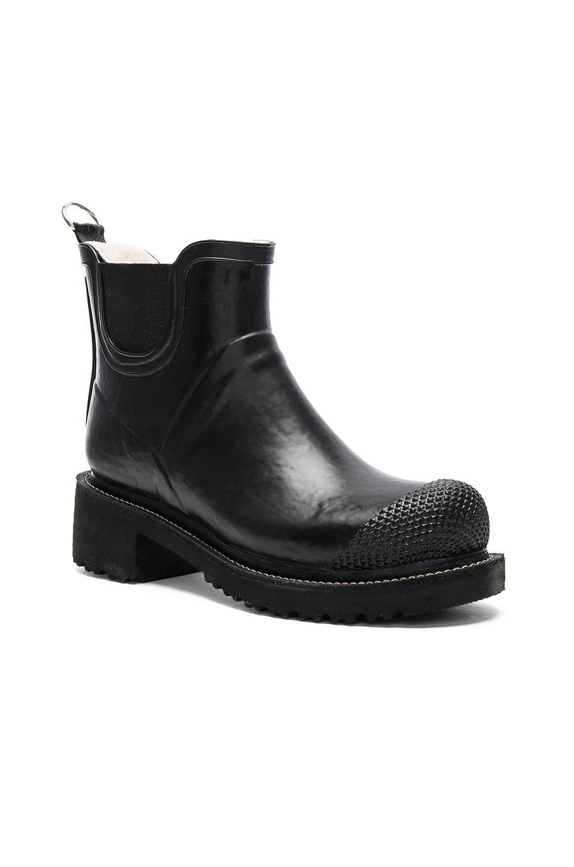 ilse jacobsen original classic boot in black lyst. Black Bedroom Furniture Sets. Home Design Ideas