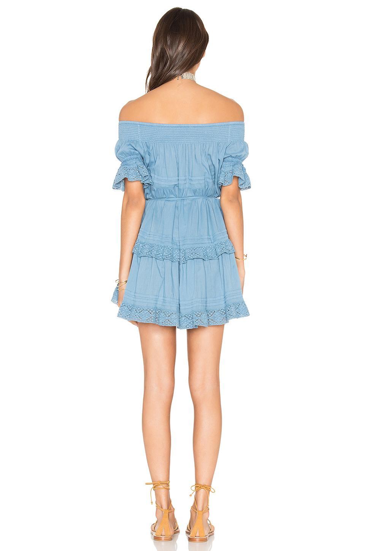 Lyst - Loveshackfancy Agnes Dress in Blue