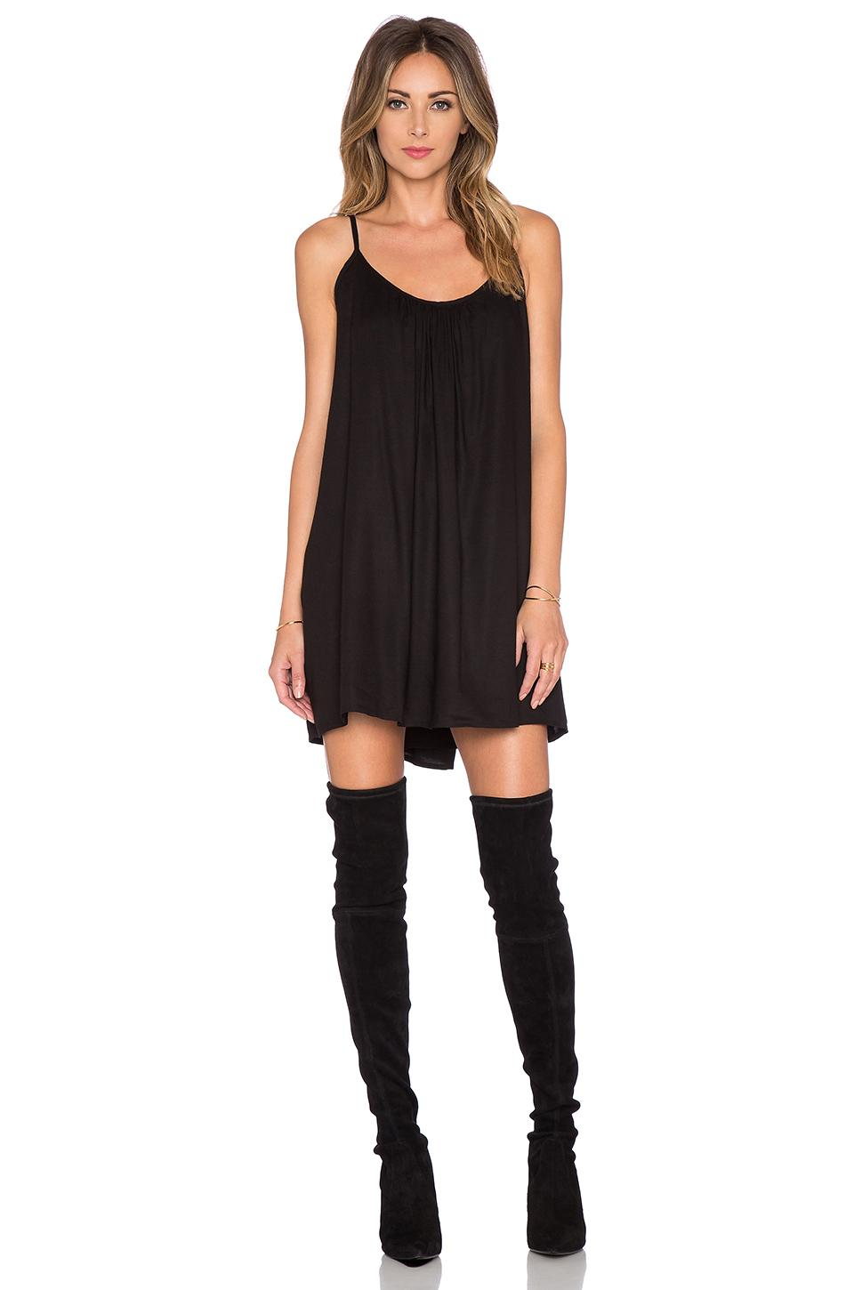Lovers Friends X Revolve Fly Away Mini Dress In Black Lyst