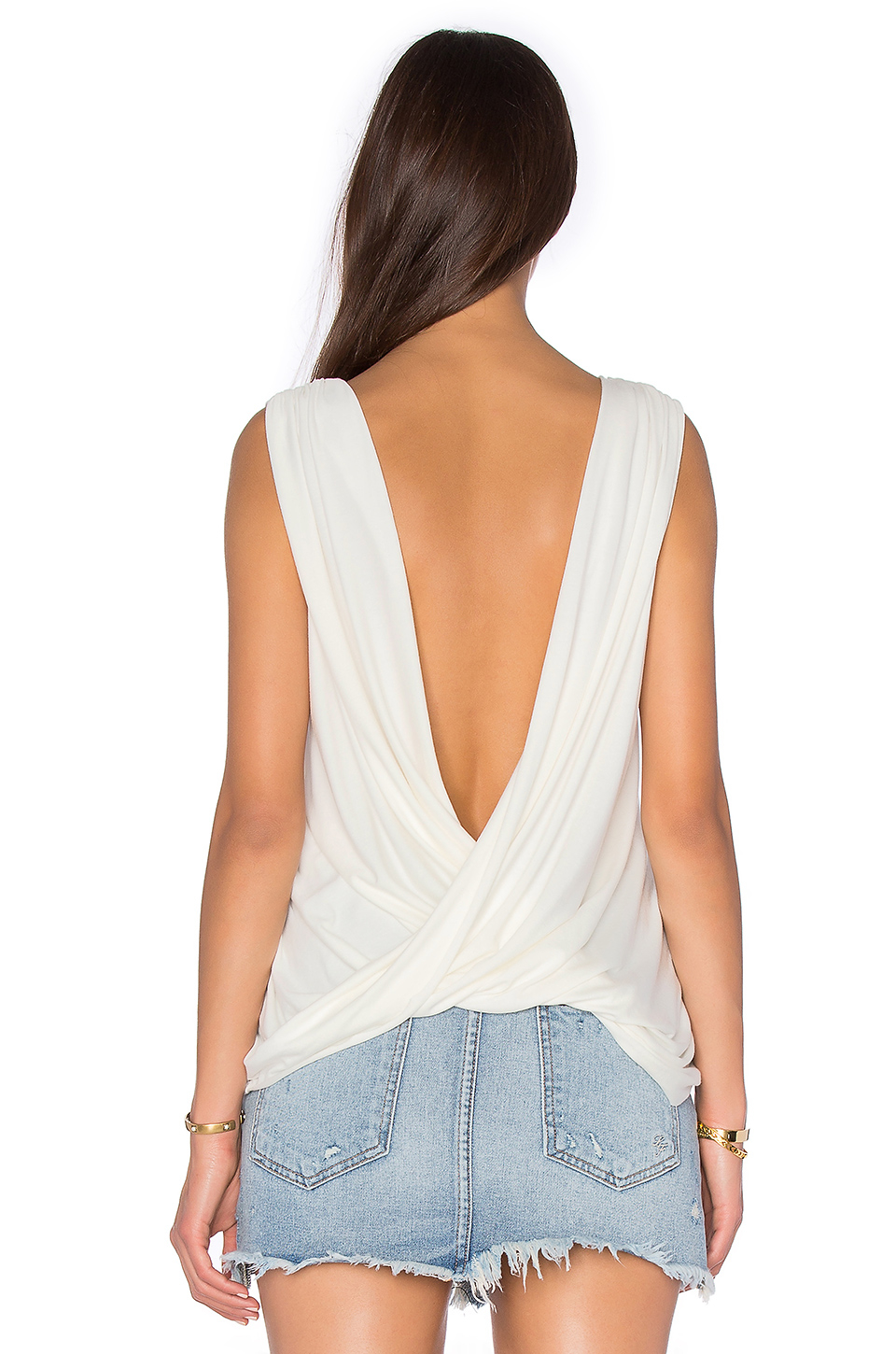 Lyst - Rachel Pally Sleeveless Castaway Top in White