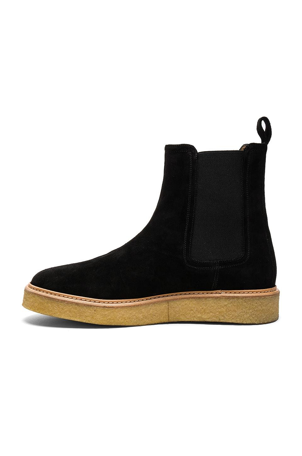 Represent Wedge Boots In Black Lyst