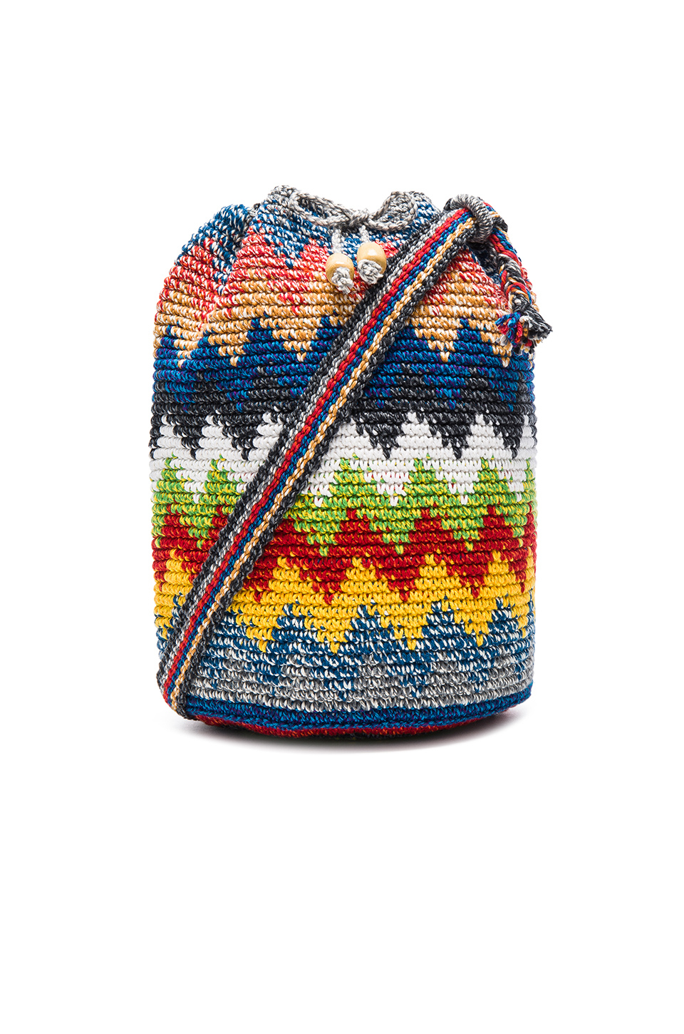 Crochet Bucket Bag : Stela 9 Crochet Bucket Bag in Multicolor Lyst