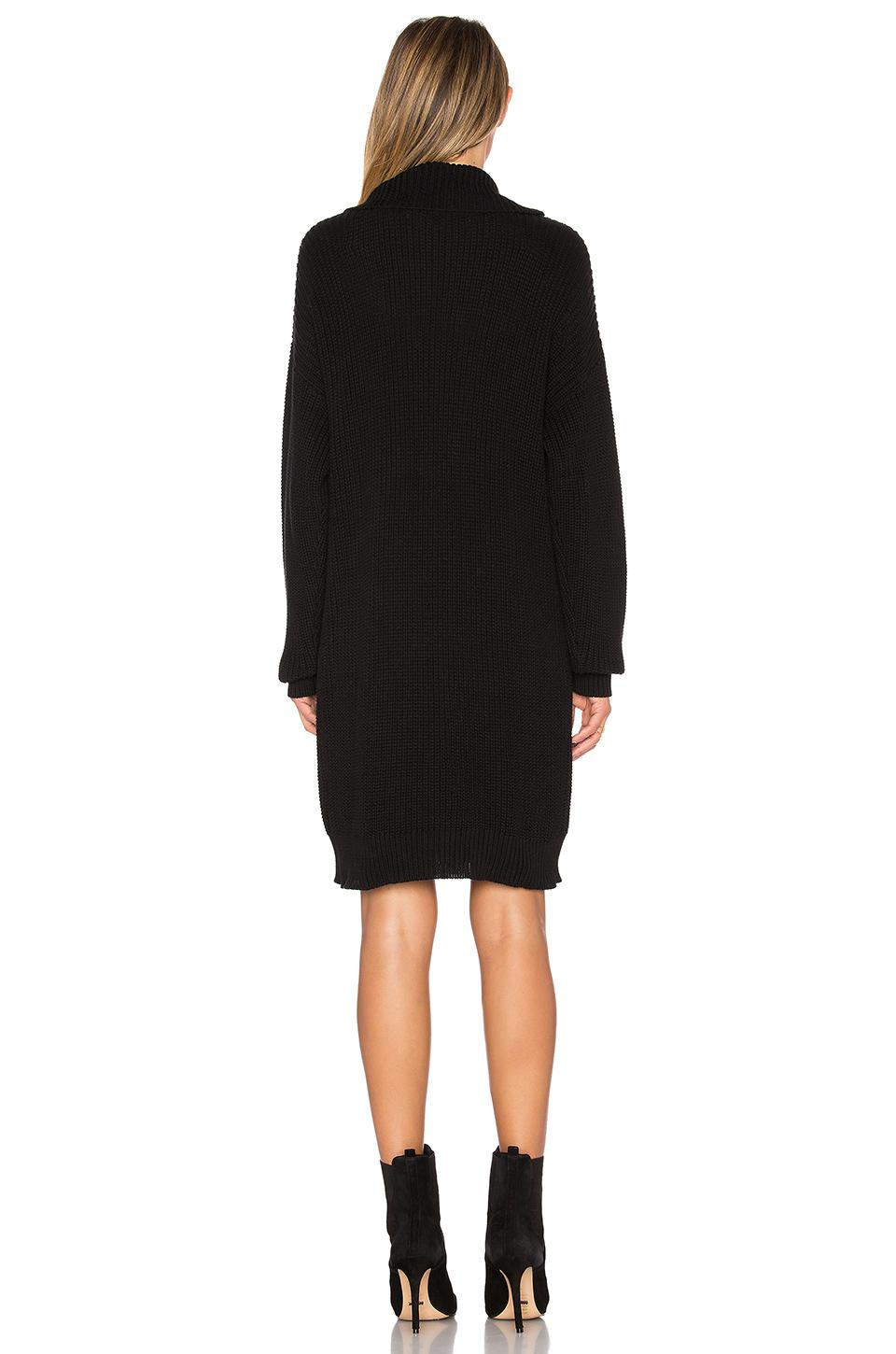 778acc33e34 Lyst - Lovers + Friends Christina Sweater Dress in Black