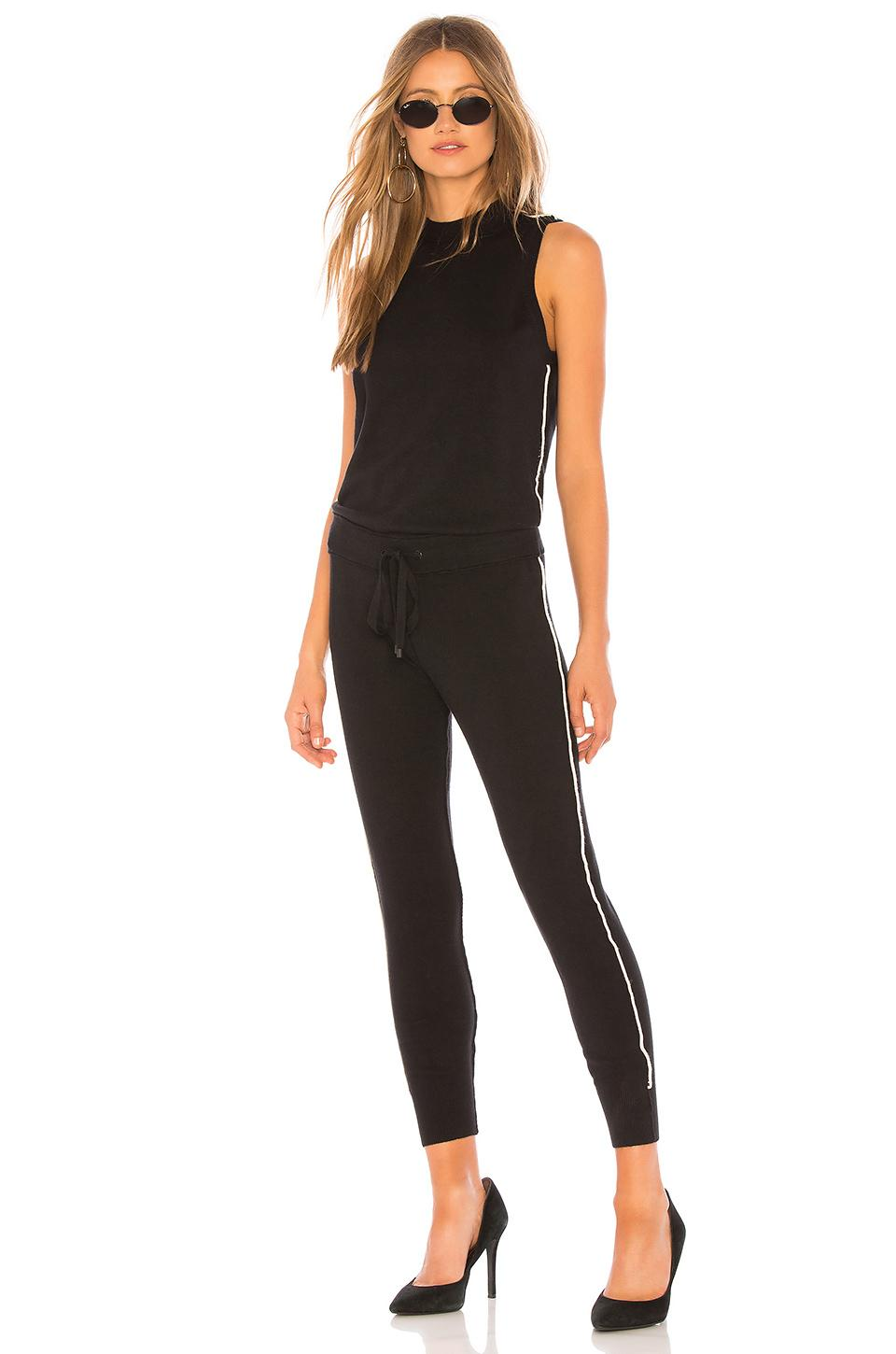8a691e4cba80 Lyst - n PHILANTHROPY Laser Jumpsuit in Black