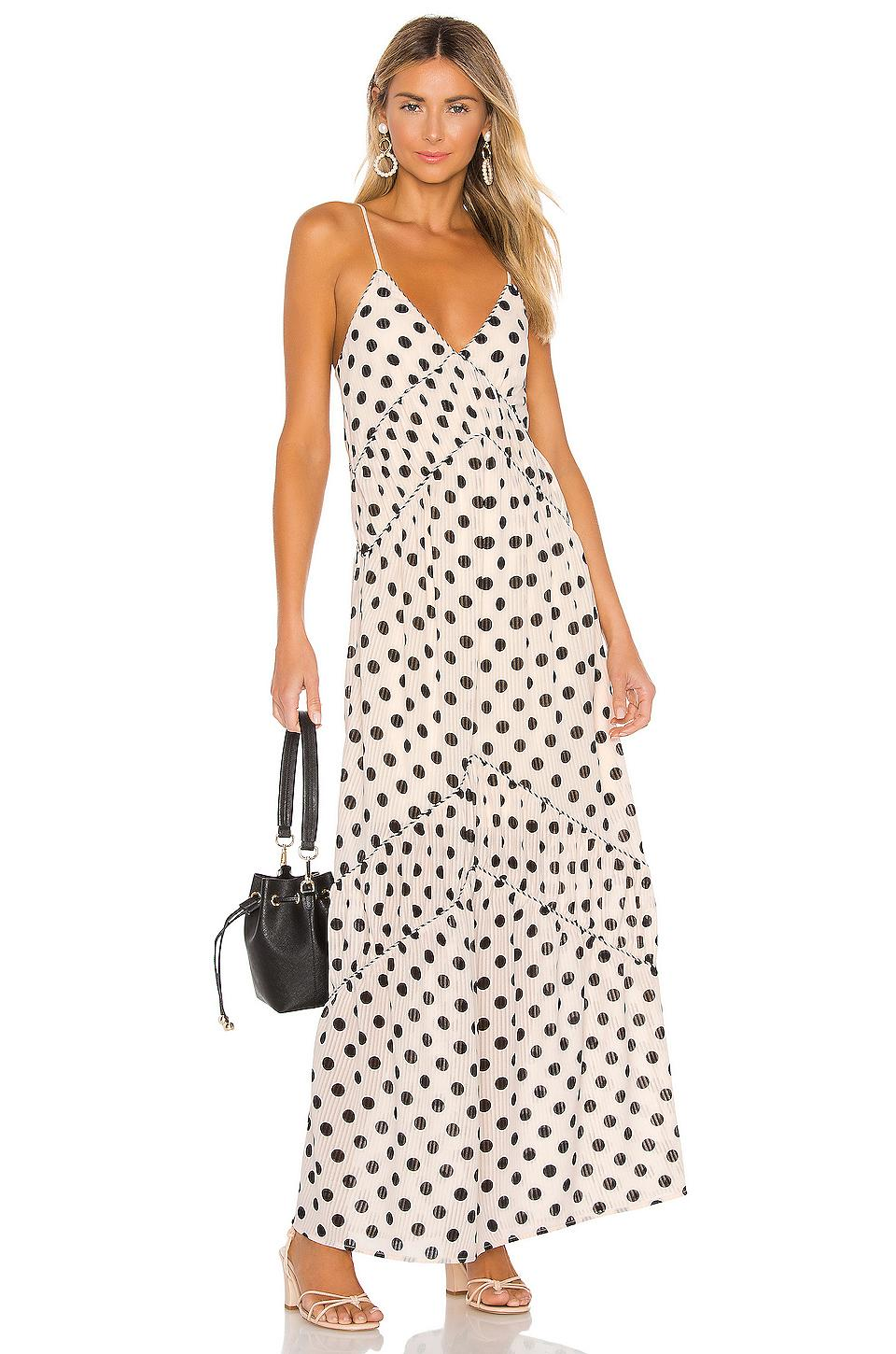 bb6cef14583ff Lyst - House of Harlow 1960 X Revolve Russo Maxi in Black