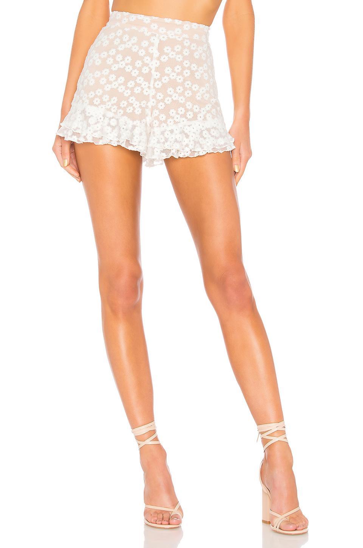 Lyst - Majorelle Whitney Shorts in White
