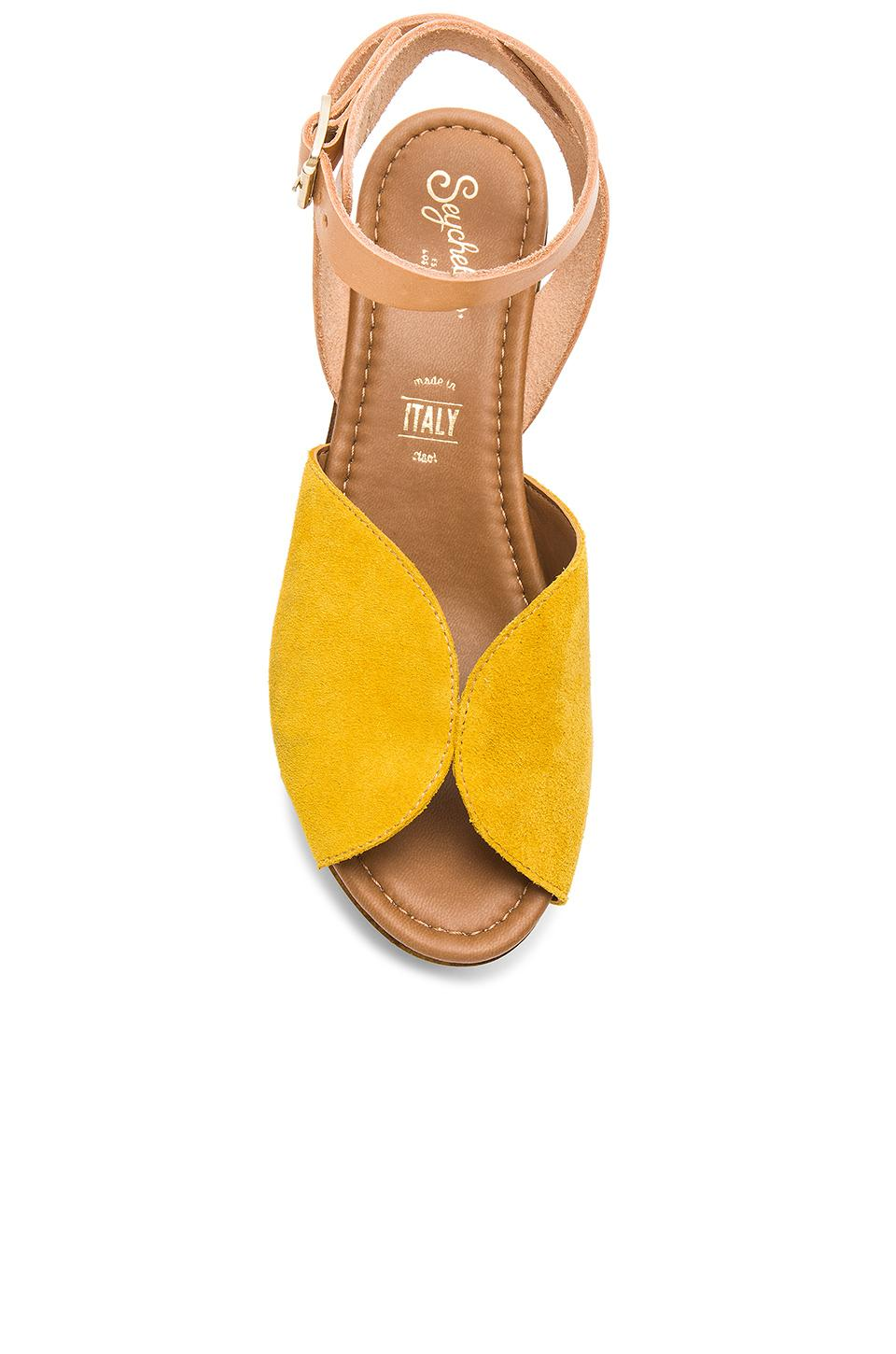 560bbbf48c8 Lyst - Seychelles Laugh More Platform in Yellow
