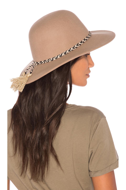 Lyst - Brixton Stills Hat in Brown dba6fde72b2