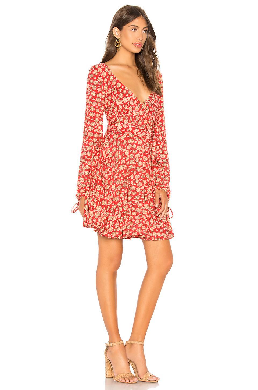 2e0b96e9003d Free People Pradera Mini Dress in Red - Lyst