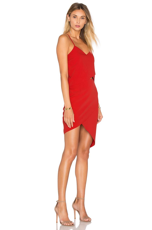 c6357bdb23 Elliatt - Red X Revolve The Shot Tulip Dress - Lyst. View fullscreen