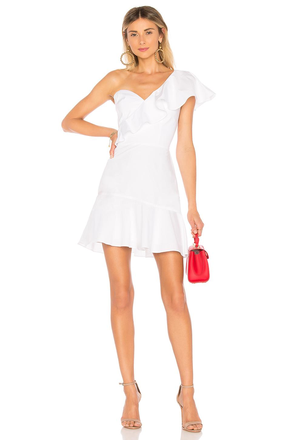 bc5160d53686 Amanda Uprichard Vanderbilt Dress in White - Lyst