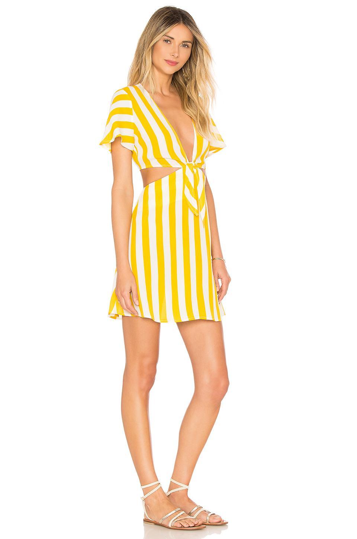 7a94b9e21c Lyst - Beach Riot X Revolve Charlotte Dress in Yellow
