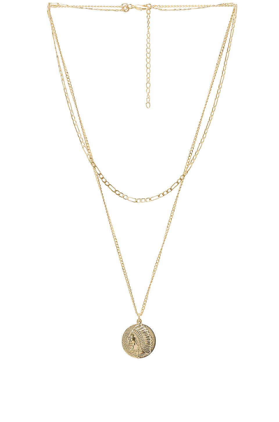Mariner Double Necklace in Gold Joolz by Martha Calvo SGoLtCR
