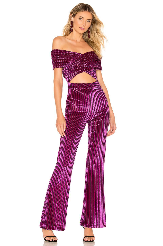 dd694eca9dff House of Harlow 1960 X Revolve Lynette Jumpsuit In Pink in Purple - Lyst