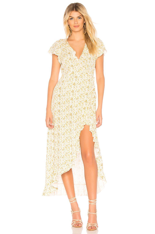 f88dc01ecb Auguste Amelia Wrap Maxi Dress - Lyst