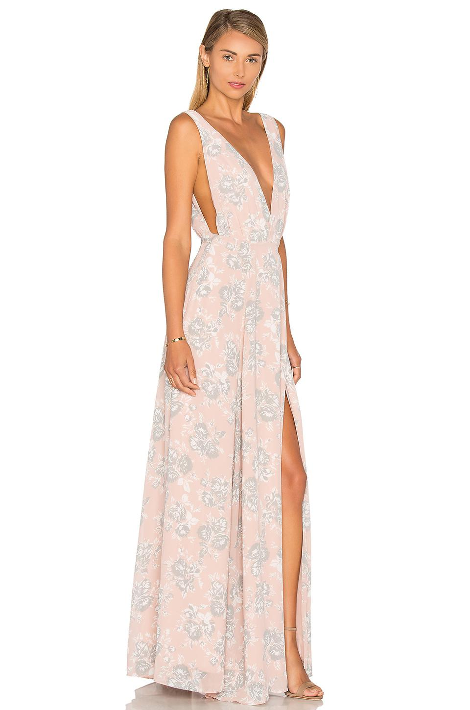 Lyst Lovers Friends Leah Gown In Black Save 5454545454545455