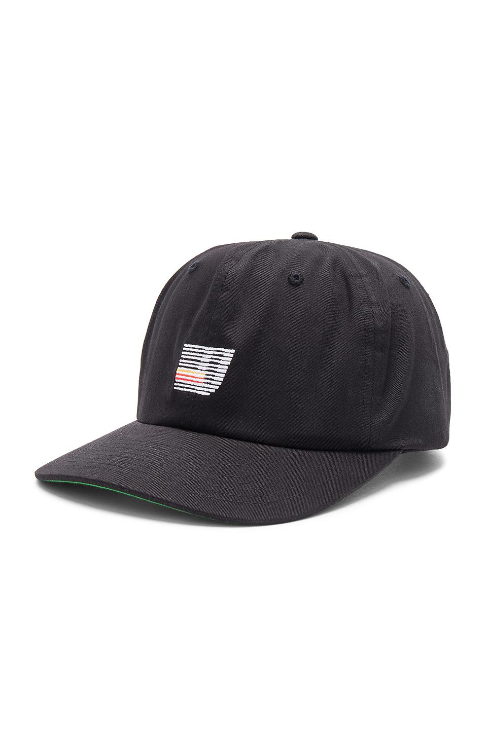 bcb98239dde Lyst - Undefeated Speed Stripe Strapback in Black for Men