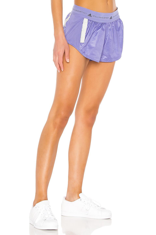 44f193c8ec5 Adidas By Stella McCartney - Purple Run Short - Lyst. View fullscreen