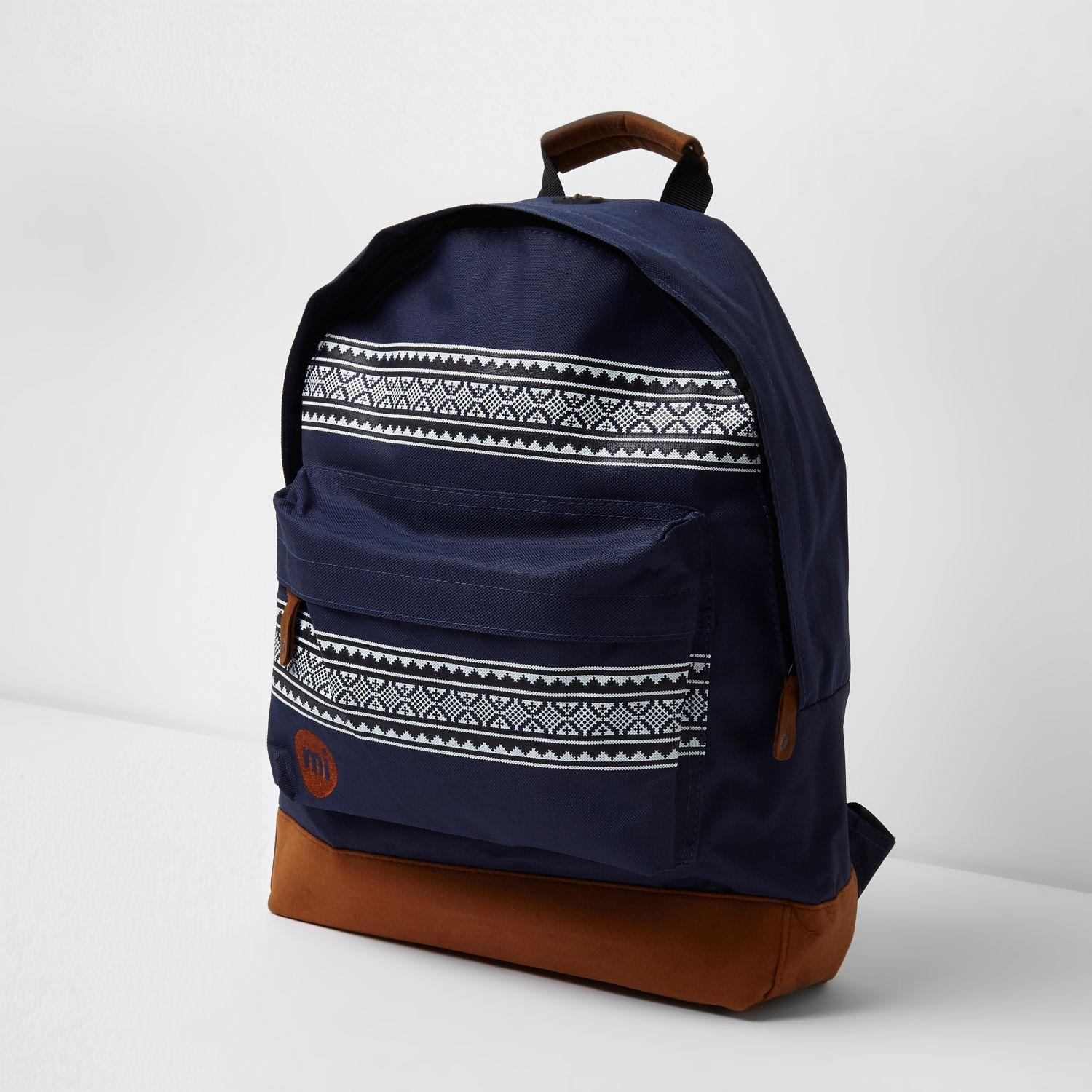 Aztec Backpack River Island