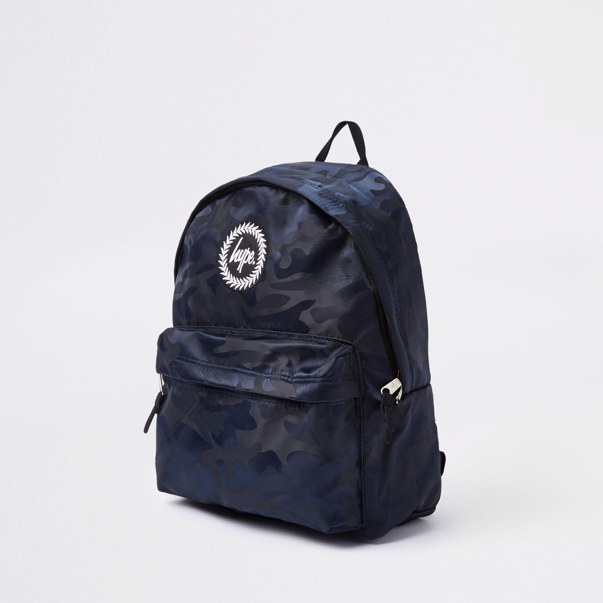Hype - Black Camo Backpack for Men - Lyst. View fullscreen 5e5767d744094