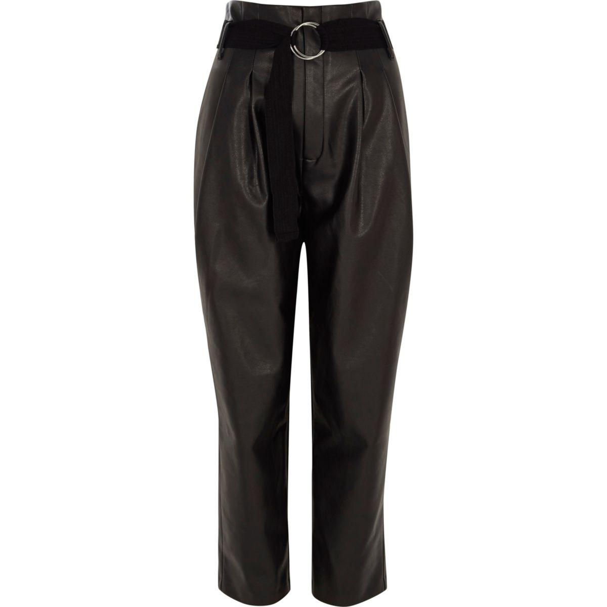 River Island High Waisted Trousers