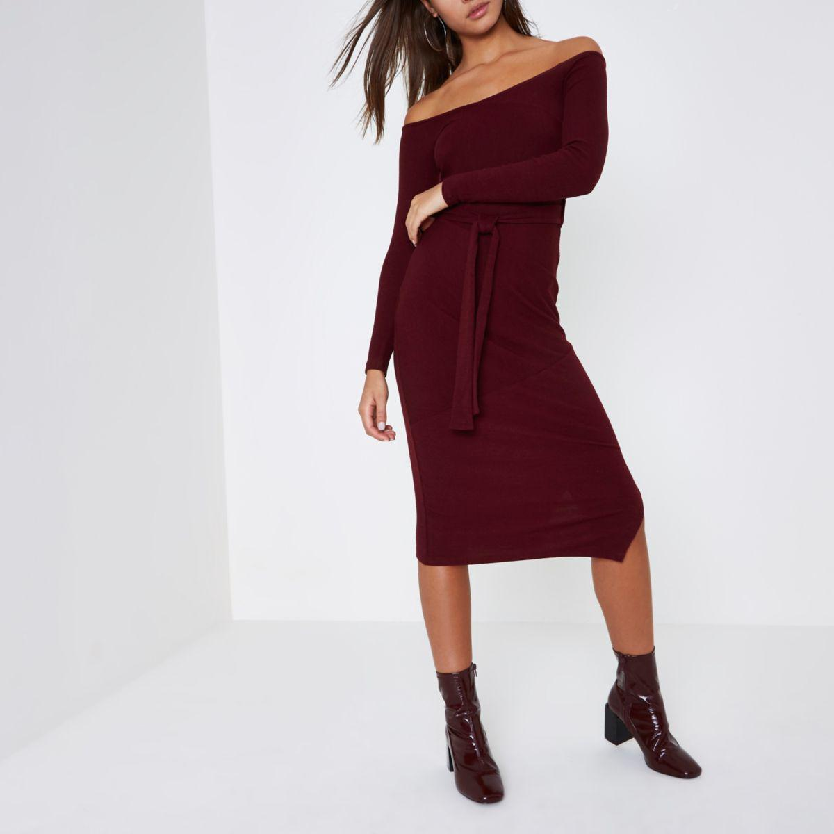 0cd11d68 Gallery. Previously sold at: River Island · Women's Burgundy Dresses