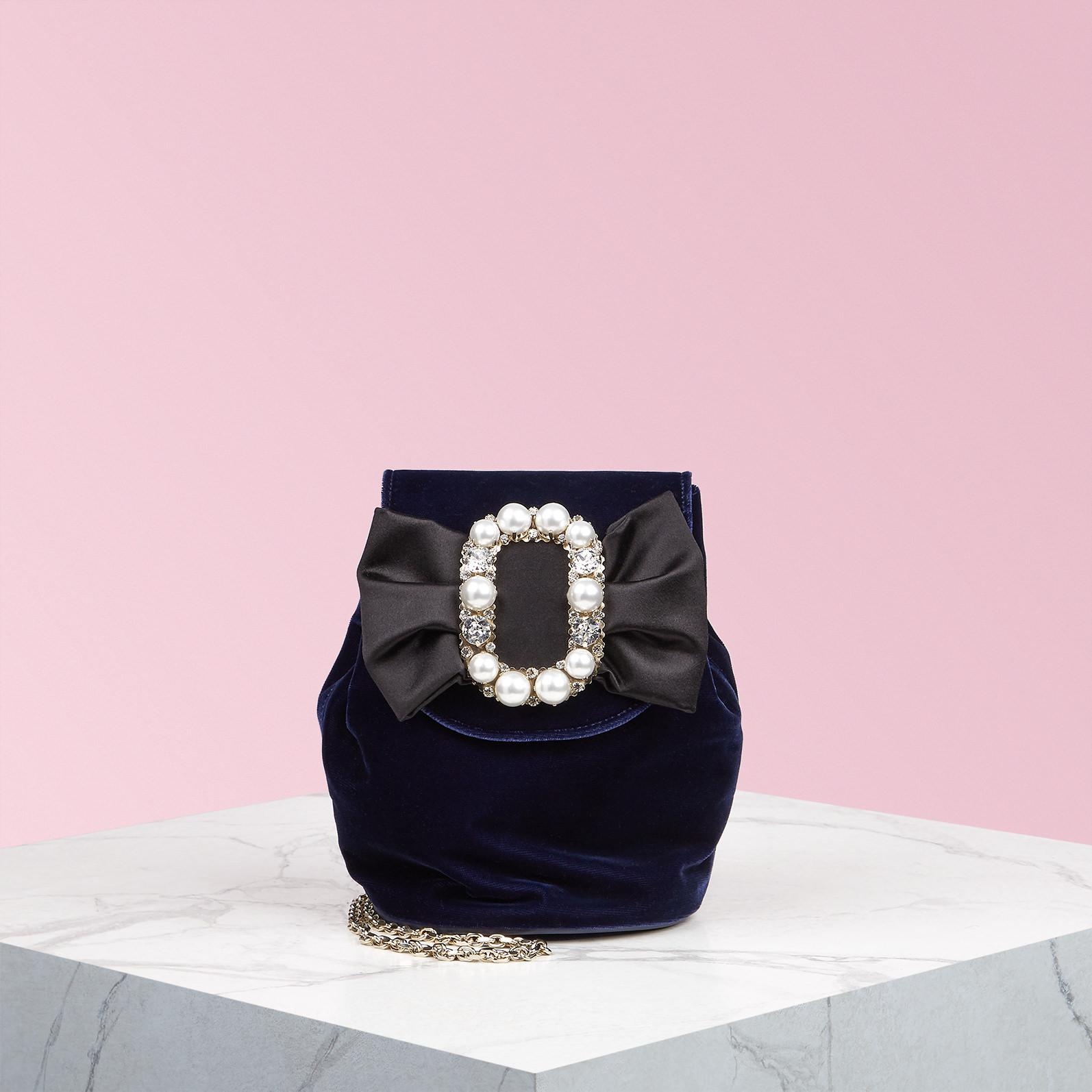 0d6b0ced5089 Roger Vivier. Women s Pearl Bow Buckle Mini Backpack
