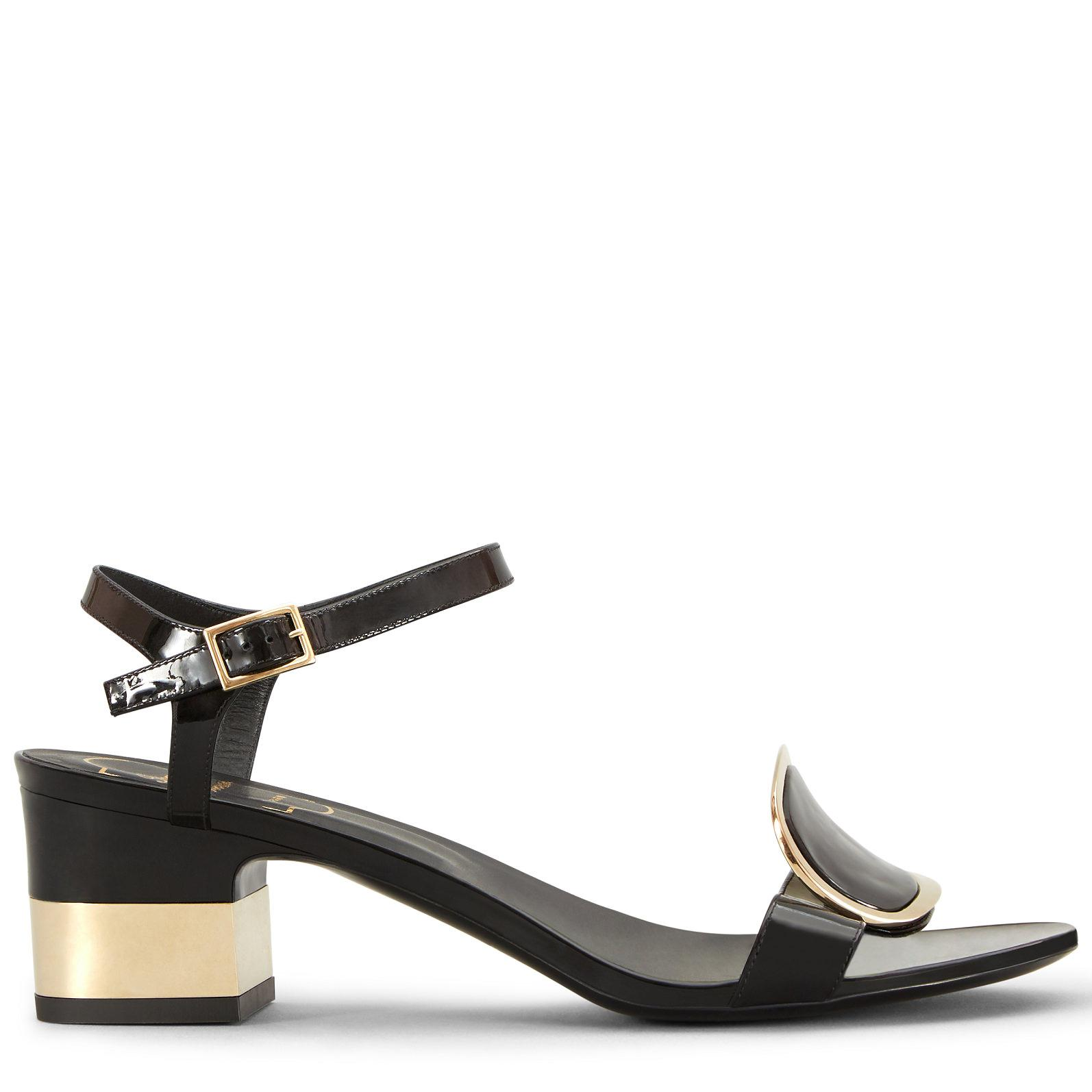 Chips West Buckle Sandals Roger Vivier rZAcfox