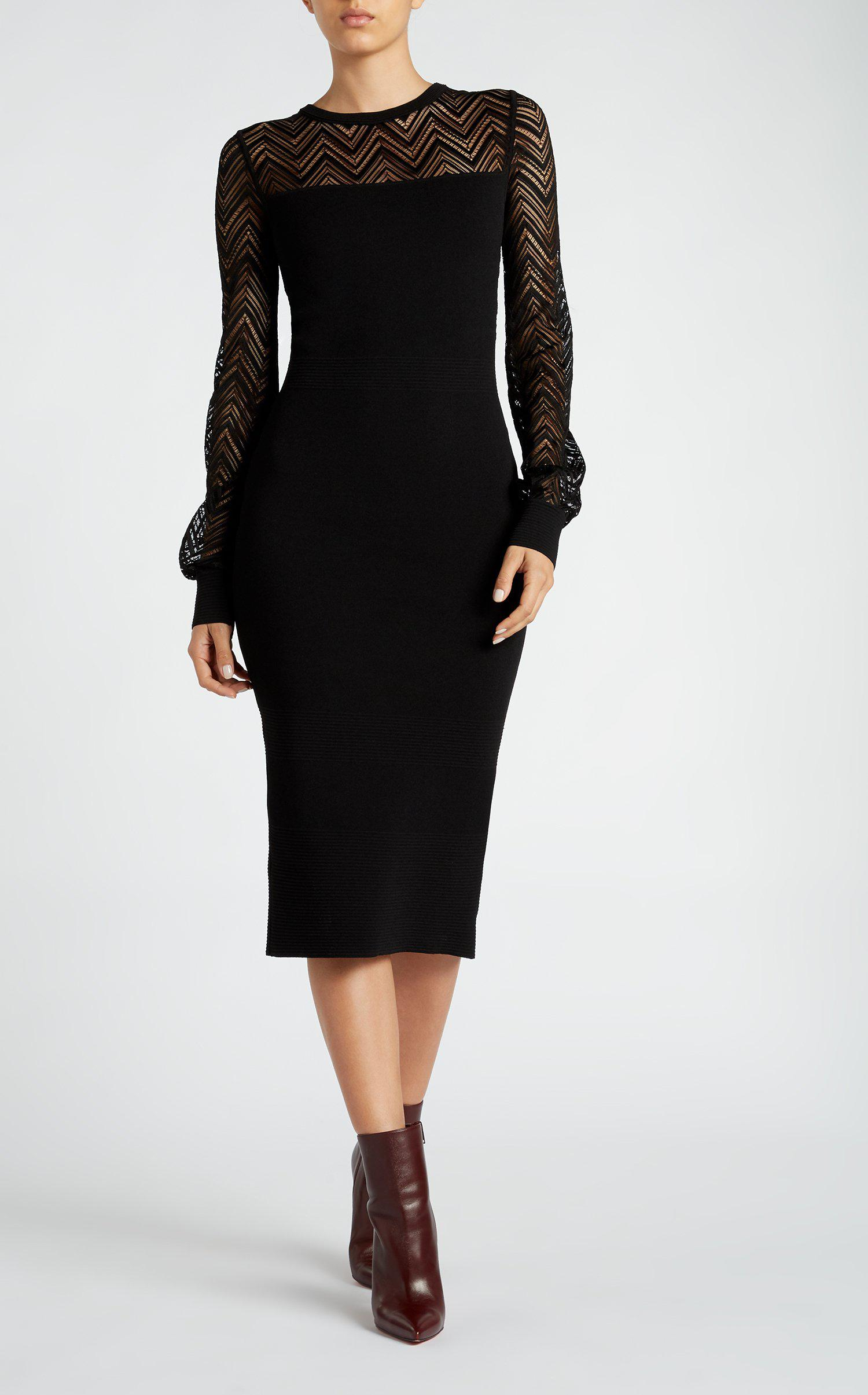 518c2ee4e9 Lyst - Roland Mouret Simmons Dress in Black