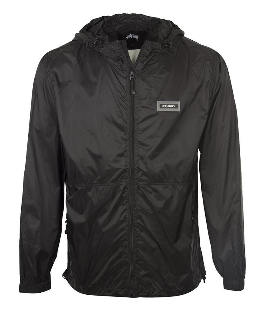 2d8500c6465 Stussy - Black Sport Nylon Jacket for Men - Lyst. View fullscreen