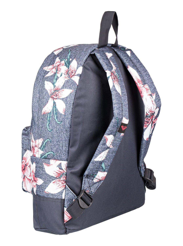 6023aa5ef9cf Roxy - Black Small Backpack - Lyst. View fullscreen