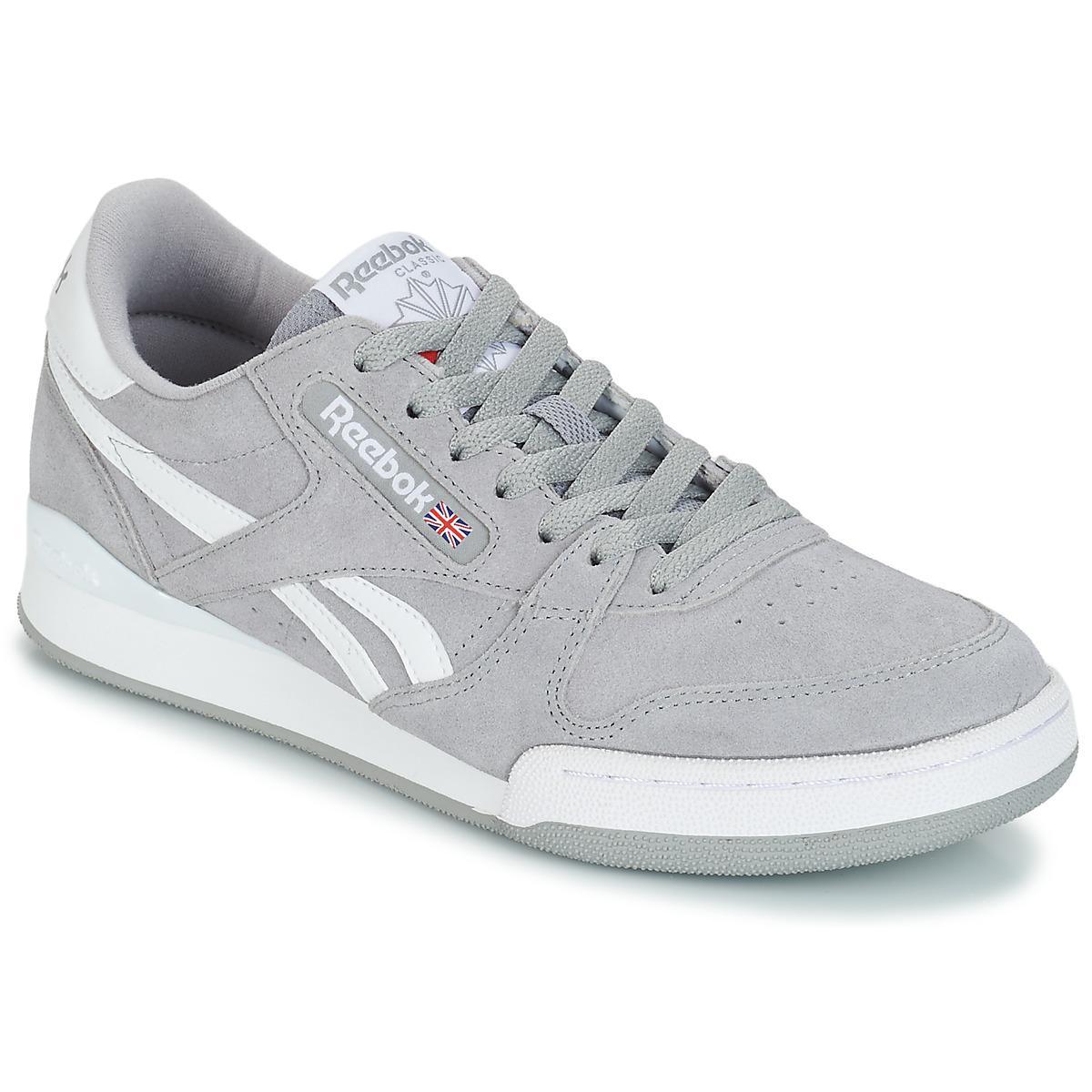 8d0d952fb89 Reebok - Gray Phase 1 Pro Mu Men s Shoes (trainers) In Grey for Men. View  fullscreen