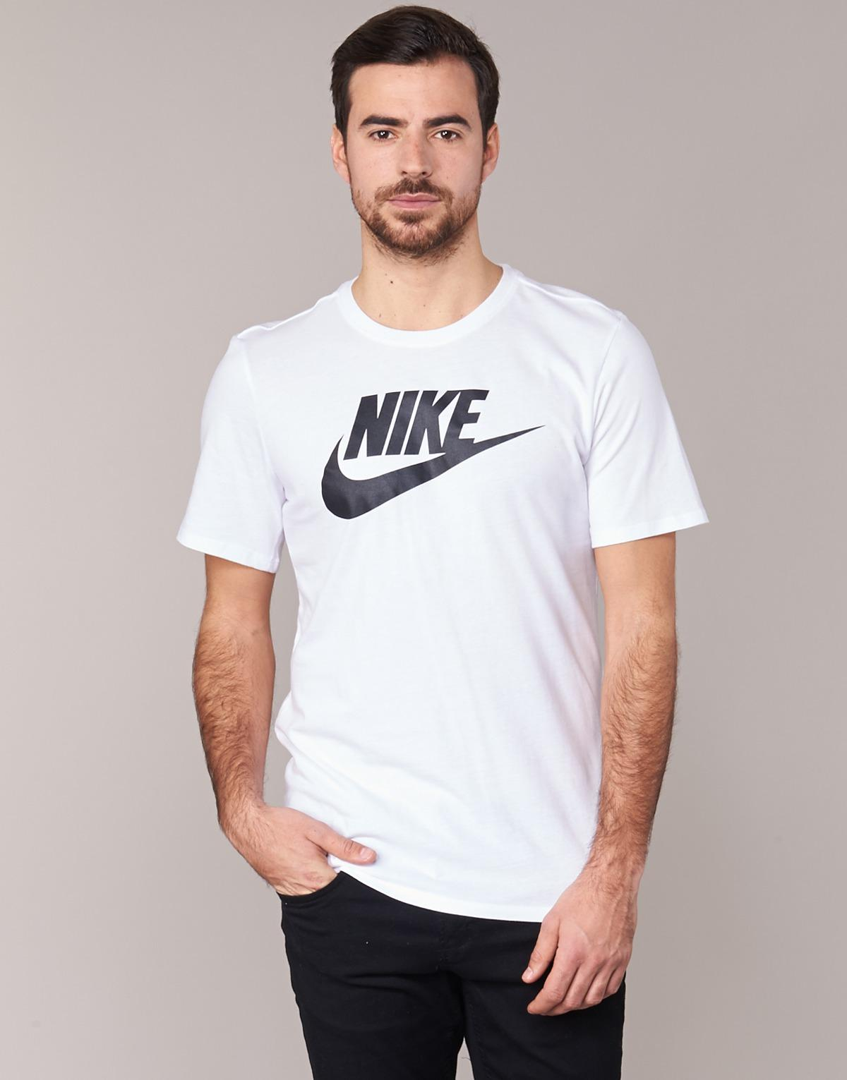6f16fb377 Nike Futura Icon T Shirt in White for Men - Save 18% - Lyst