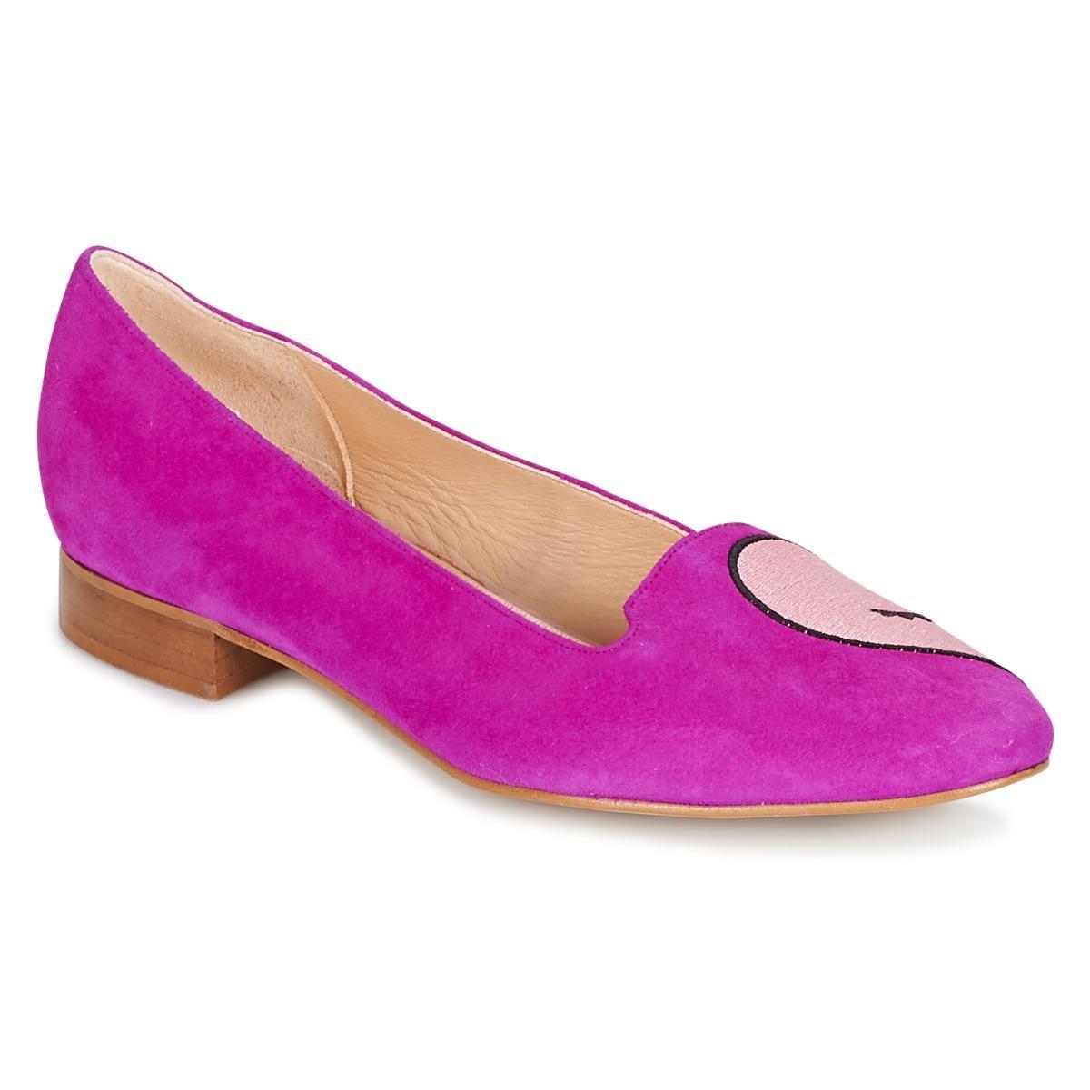 Mellow Pink Dreccy Yellow Shoespumps BallerinasIn Women's PXOkuTZi
