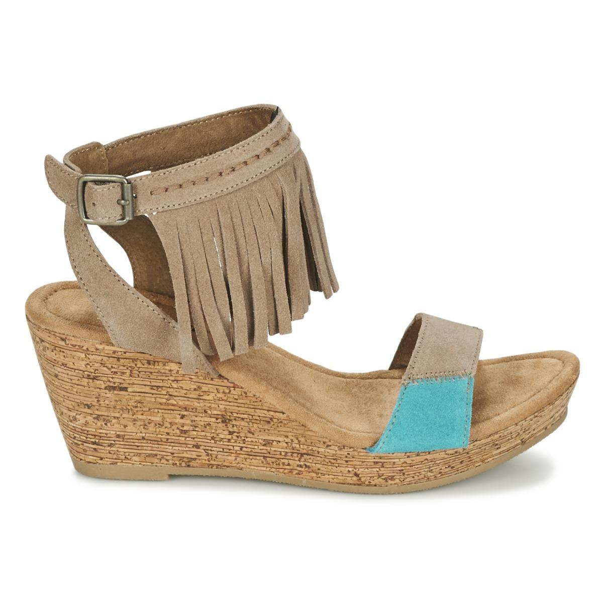ffd7e8b51 Minnetonka Poppy Sandals in Brown - Lyst