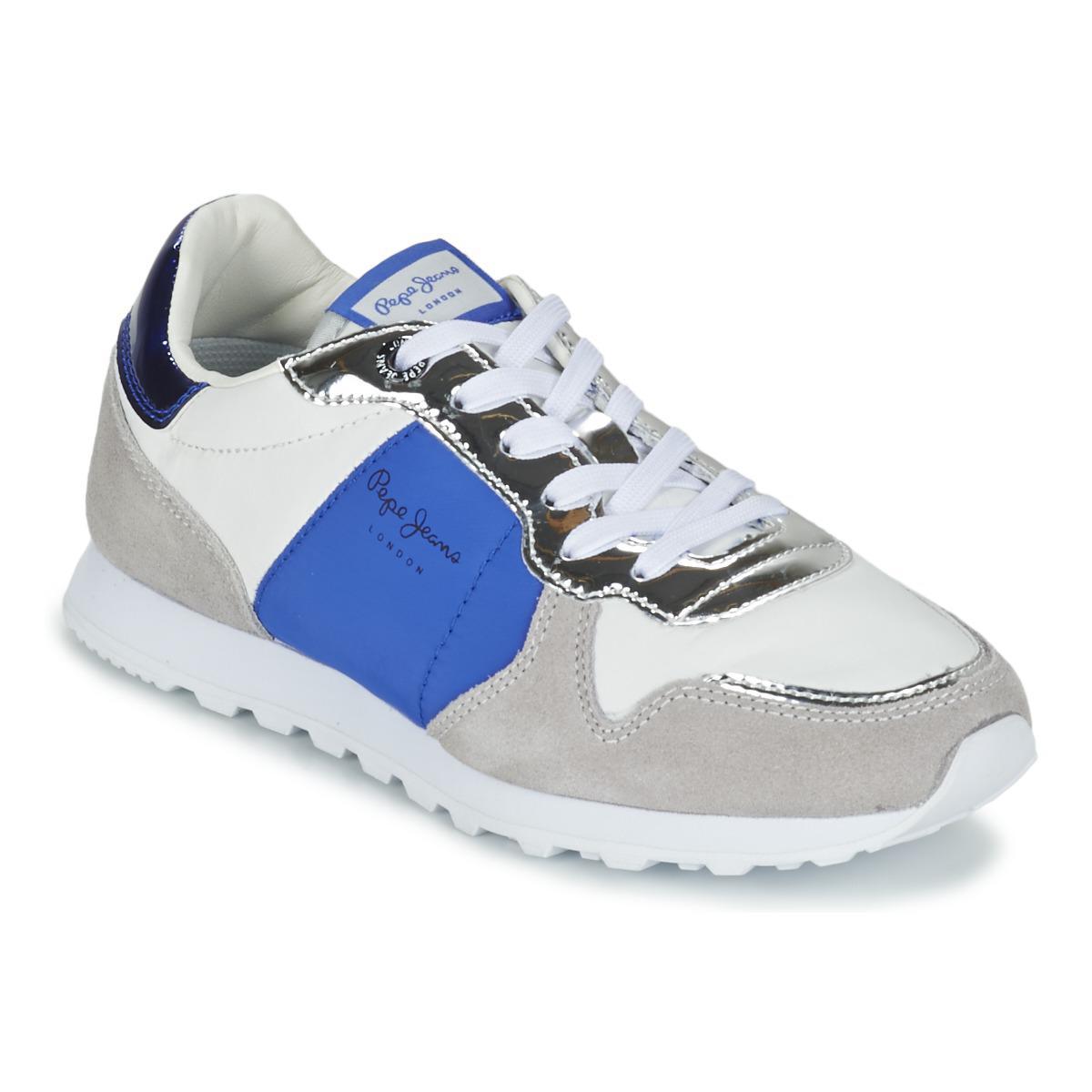 Pepe Jeans Damen Verona W New Mirrow Sneakers