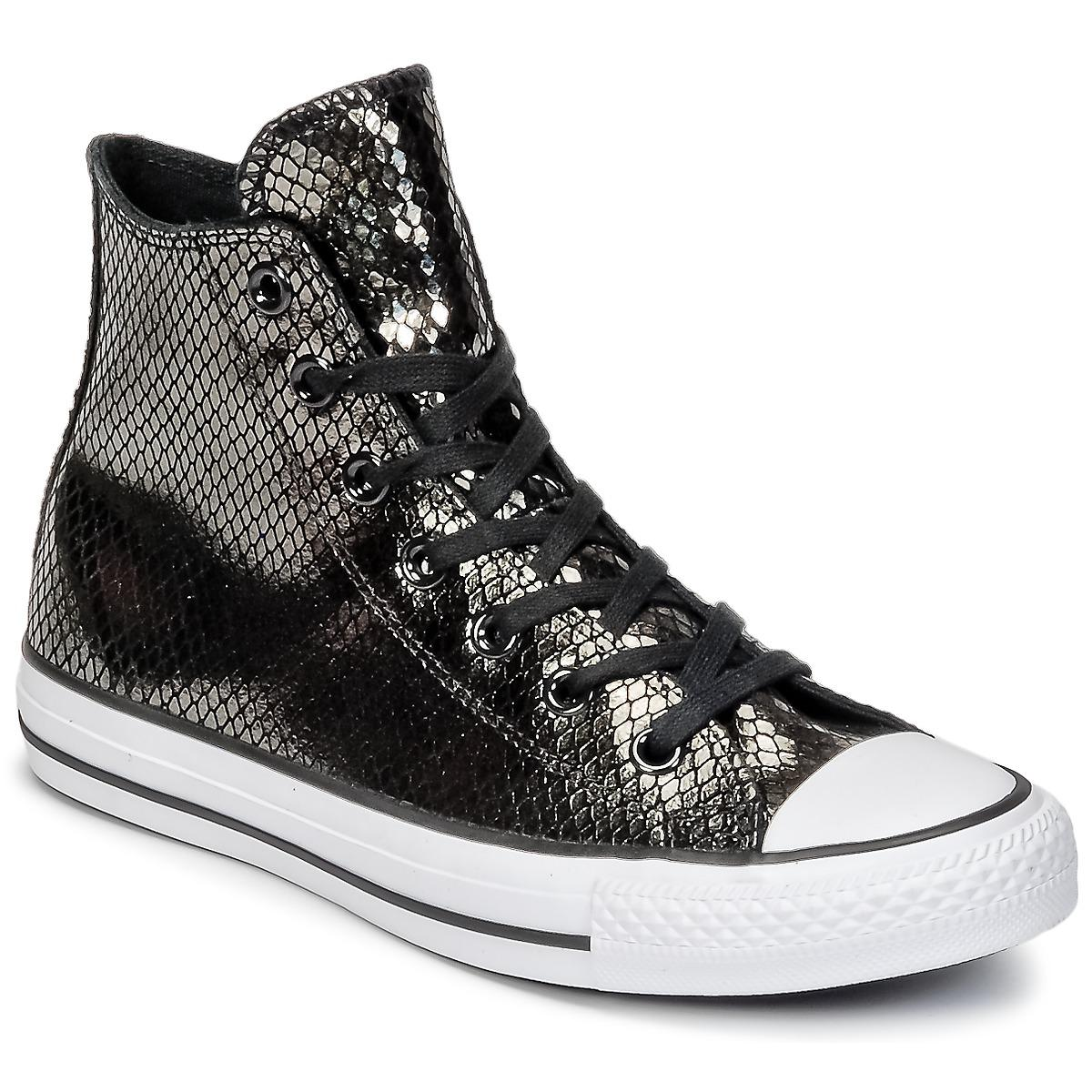070a993776bd Converse Chuck Taylor All Star Metallic Snake Leather Hi Shoes (high ...