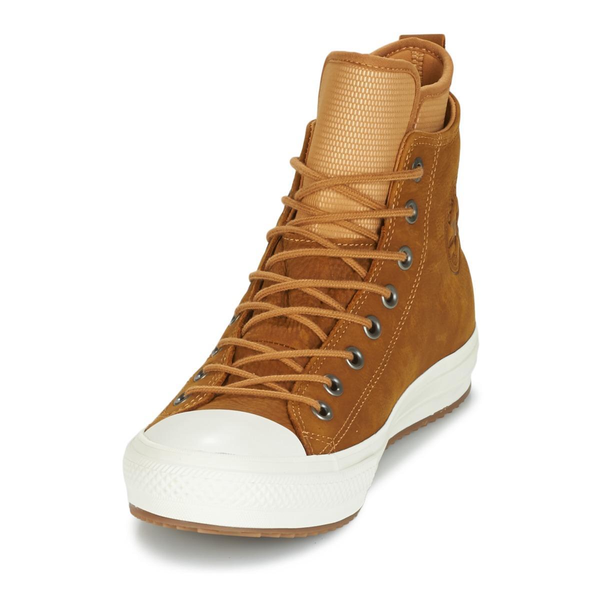 7fb3dc638145 Converse - Brown Chuck Taylor Wp Boot Nubuck Hi Raw Sugar egret gum Shoes.  View fullscreen