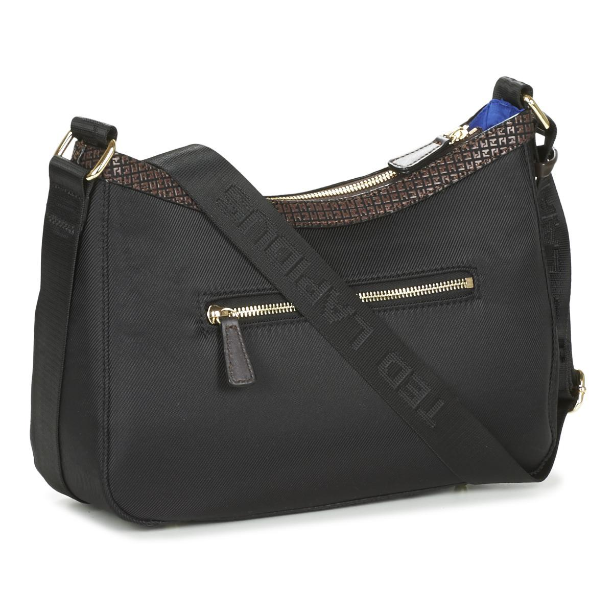 Ted Lapidus Black Cancale Shoulder Bag Lyst View Fullscreen