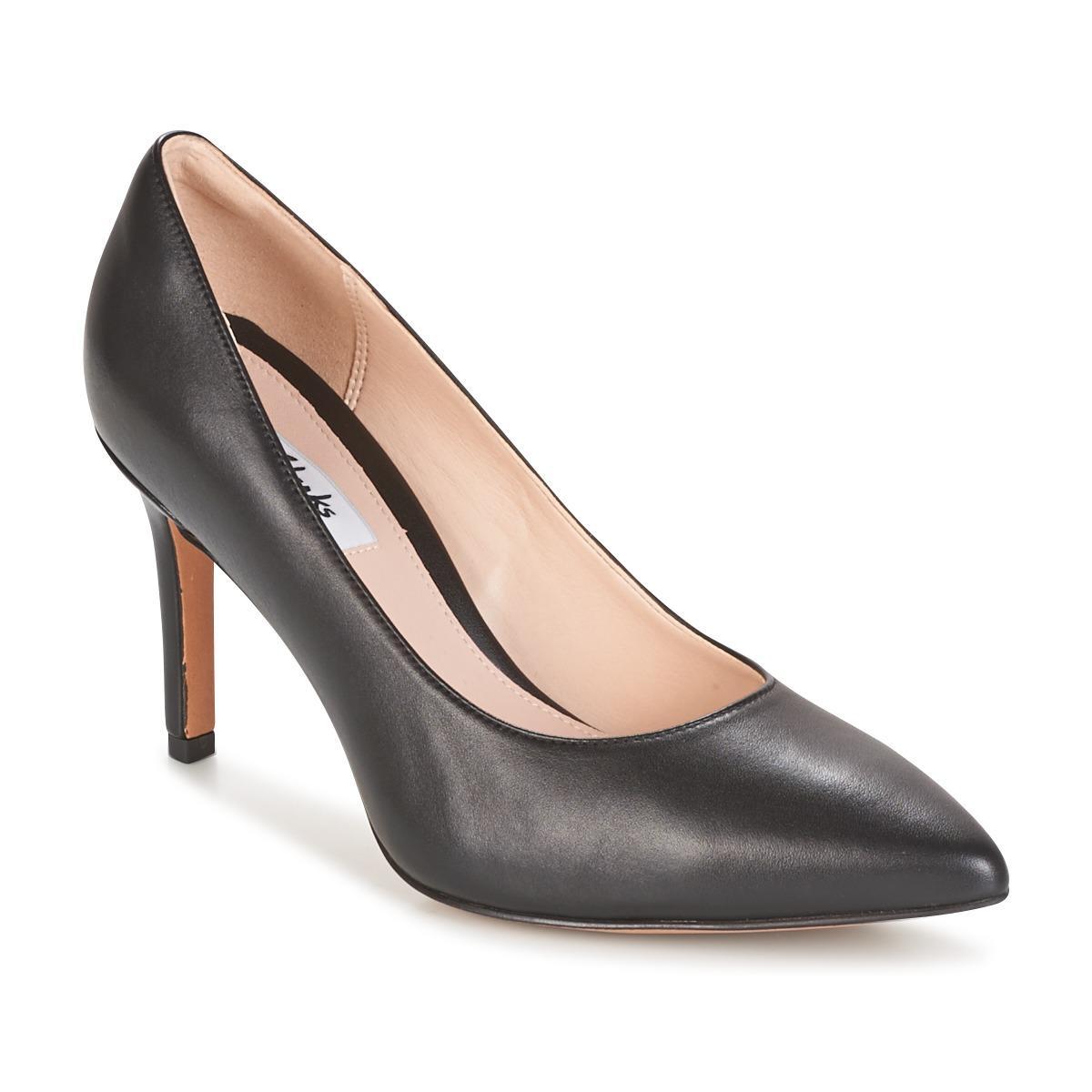 46ef450e97d4 Clarks Dinah Keer Court Shoes in Black - Lyst