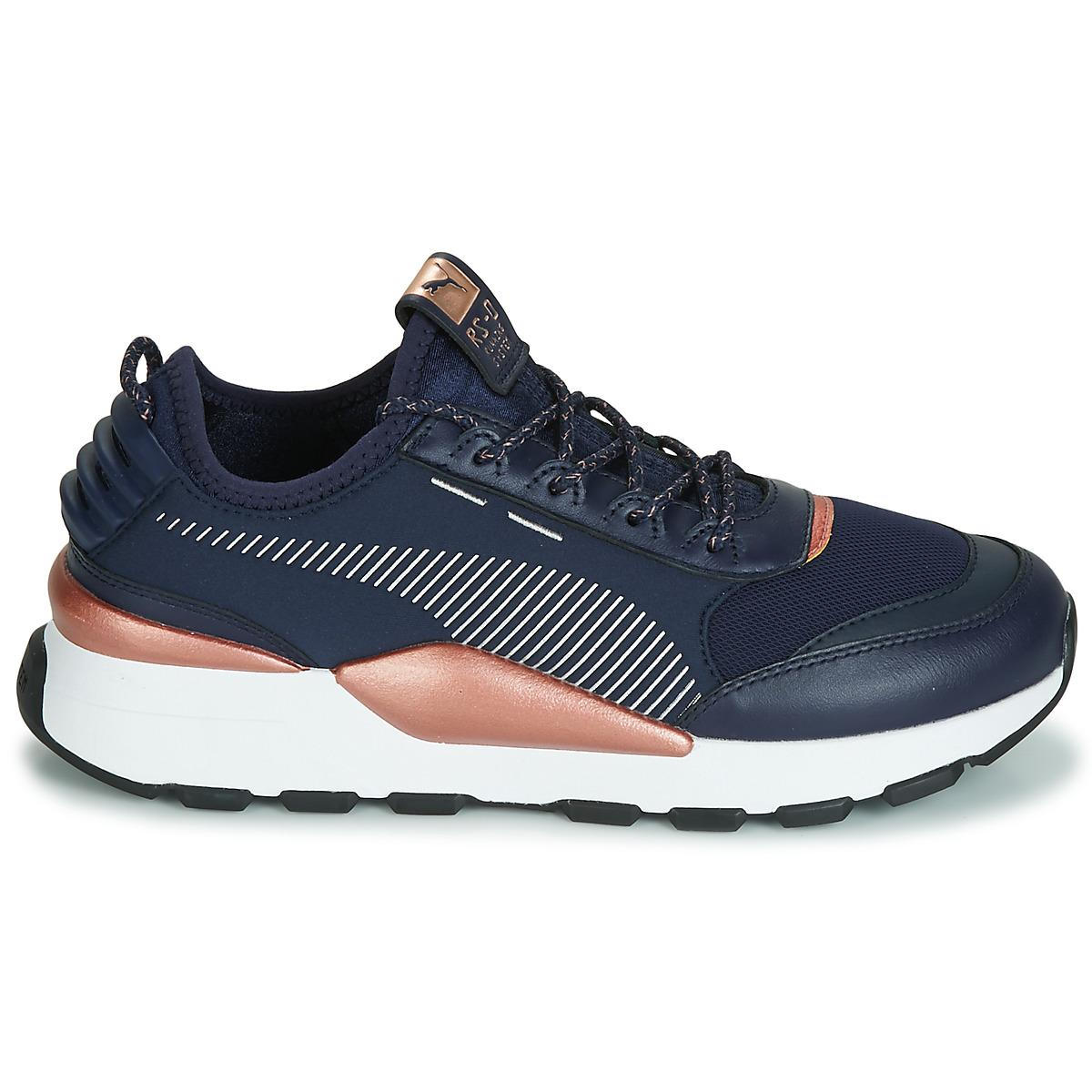 1266fe84670202 PUMA Wn Rs-0 Trophy.peacoat-wh Shoes (trainers) in Blue - Lyst