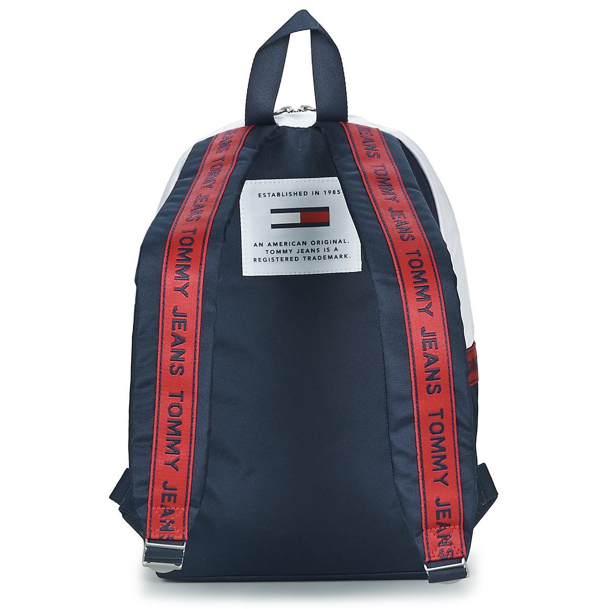 f946bb57b42 Tommy Hilfiger - Blue Tju Logo Tape Med Backpack - Lyst. View fullscreen