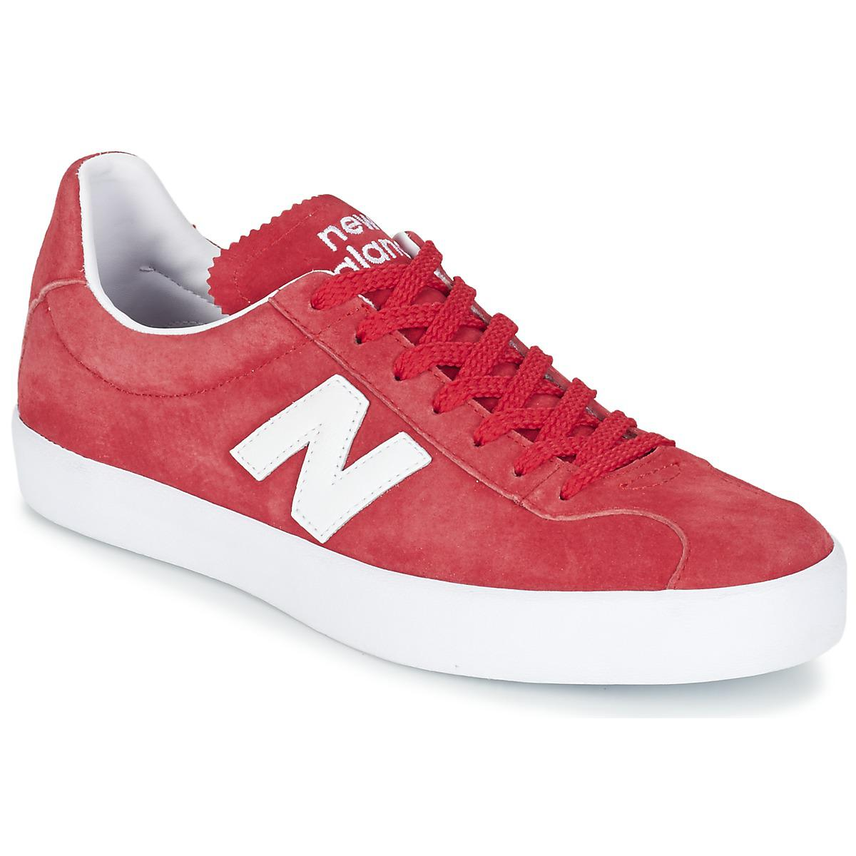 Mens New Balance Tempus Trainers Red