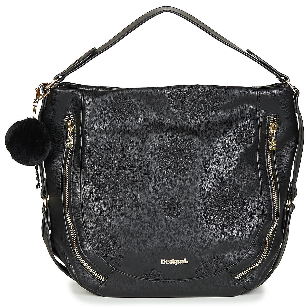 Desigual Bols Aleida Marteta Shoulder Bag in Black - Lyst dd7bae06eac14