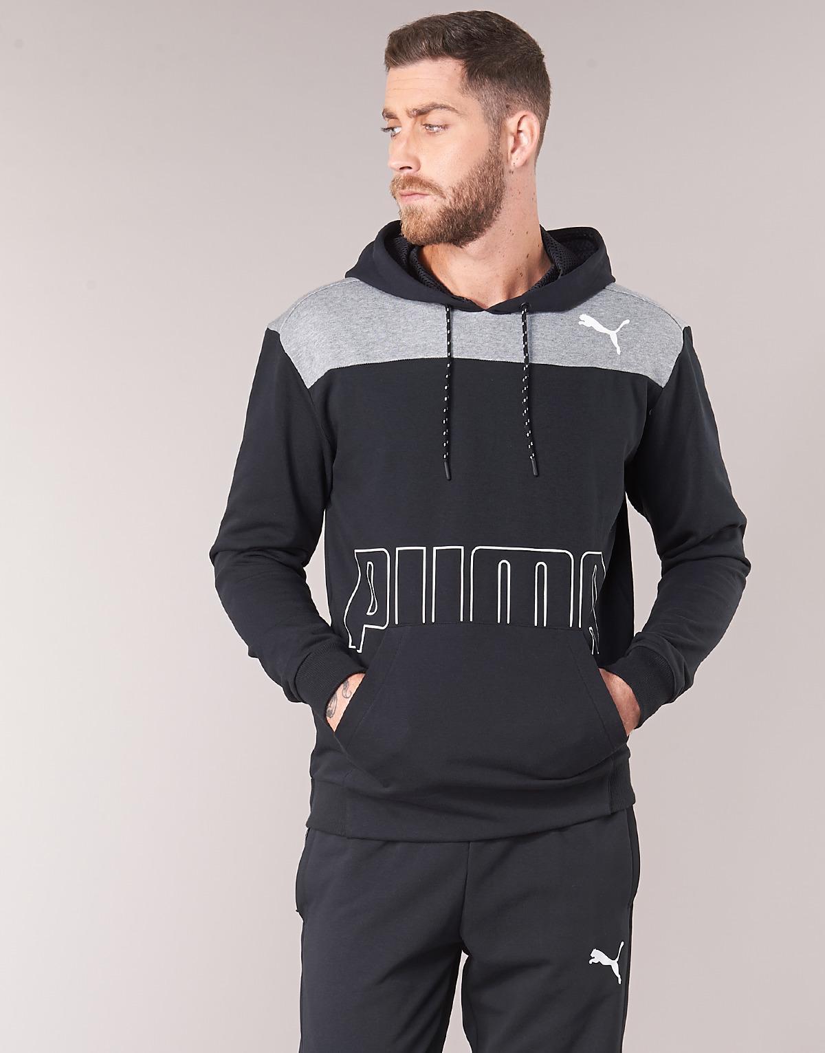 2937b21128 PUMA Modern Hoody Sweatshirt in Black for Men - Lyst
