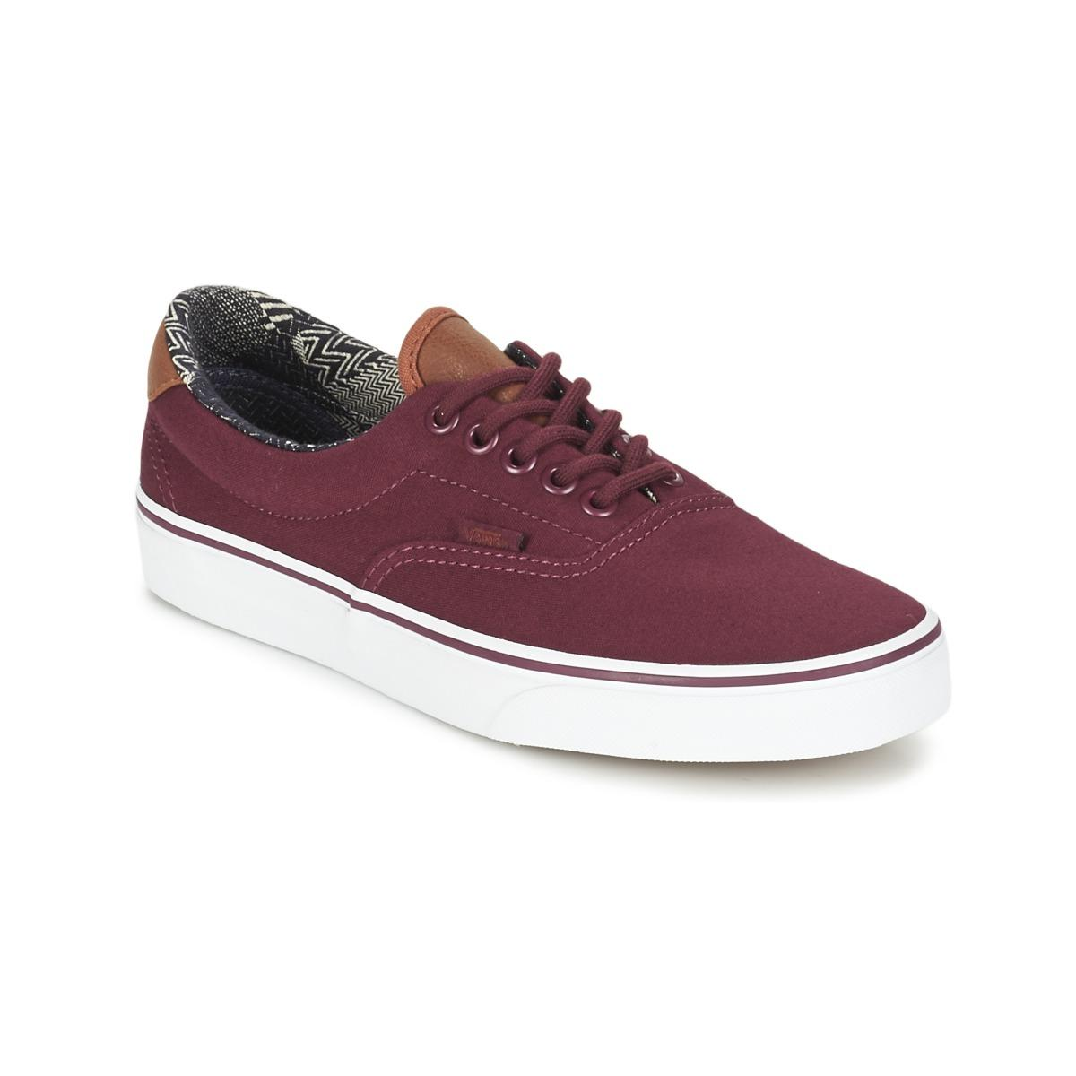 ad7524fb77597b Vans Era 59 Shoes (trainers) in Red - Lyst
