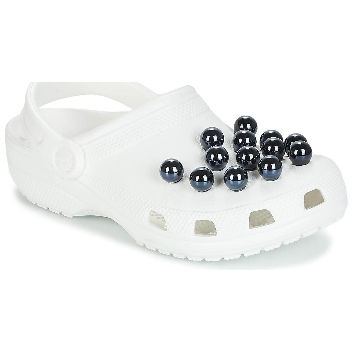 fd0d1cd05 Crocs™ Classic Timeless Clash Pearls Clog Clogs (shoes) in White - Lyst